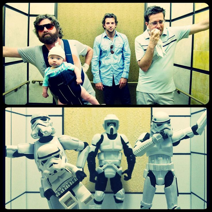The Hangover recreated   Image by Mark Andrew