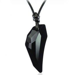 84 best mens accesories images on pinterest charm bracelets fancy black crystal pendant necklaces mens jewelry fashion jewelry mozeypictures Images