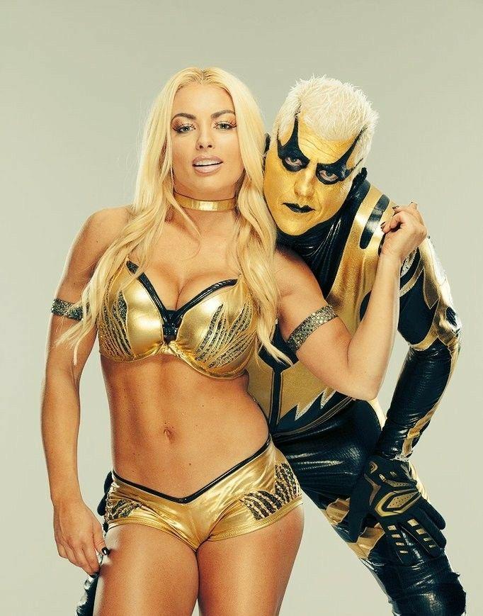 Goldust Amp Mandy Rose WWE Mixed Match Challenge