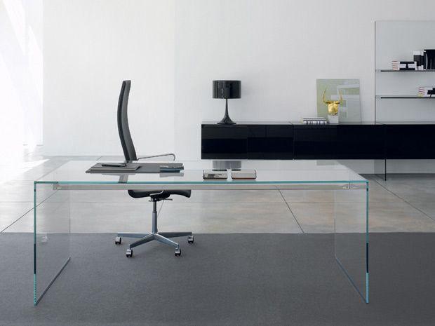 M s de 25 ideas fant sticas sobre escritorio de vidrio en for Escritorio de vidrio