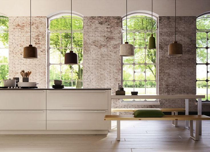 mooie muur/keuken