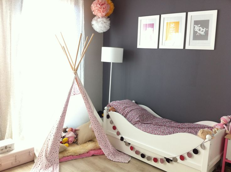 Tipi tuto Ikea chambre enfant fille
