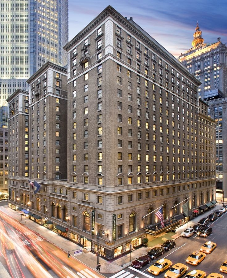 The Roosevelt Hotel, New York City, USA. The hotel I'll be staying in when I go.
