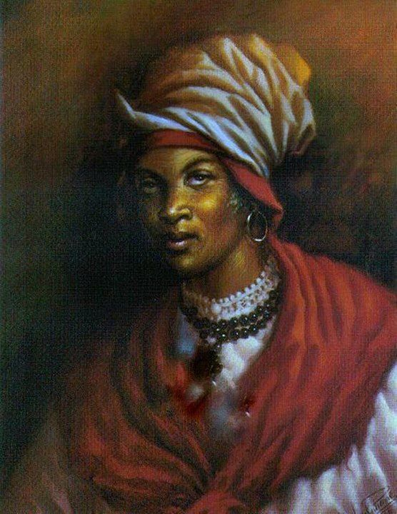 Cécile Fatiman is known as the Vodun priestess who led the gathering at Bwa Kayiman that started the Haitian Revolution. Like Haitian healers  warriors Tante Toya  Gann Guitonn, she was a living vessel of her people. She traveled for years day  night without rest to the plantations letting trusted initiates know about the great gathering of all warriors to end slavery to come on August 14th. Holding Vodun clearing rituals as she went, undoing colonial mentacide.