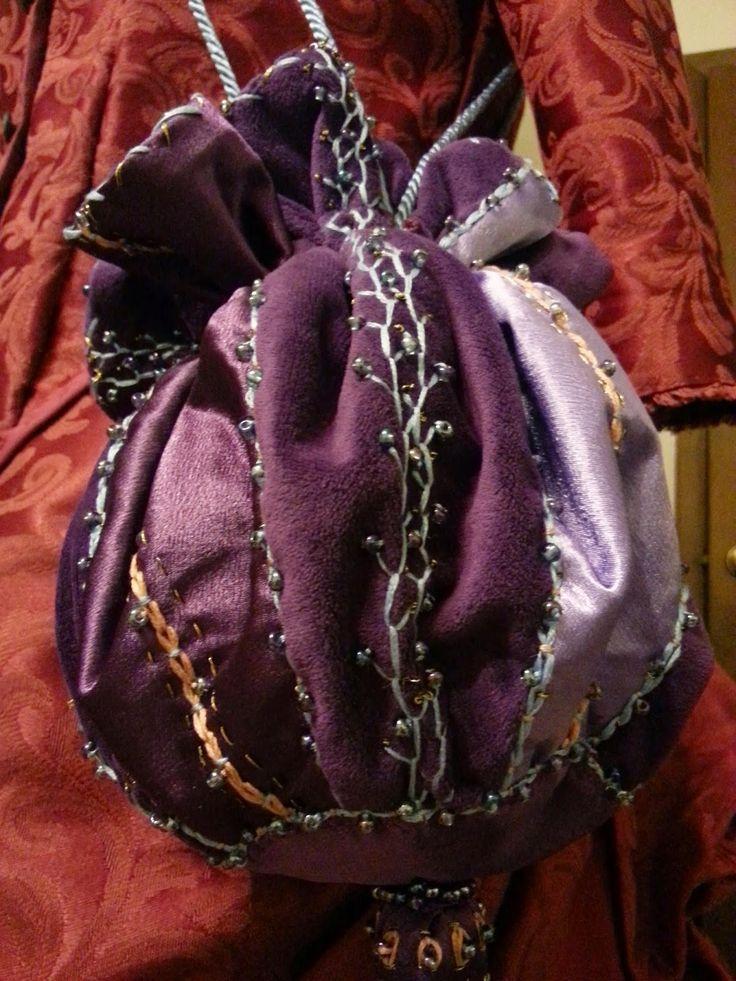 Finding My Way: Hermione Granger beaded bag