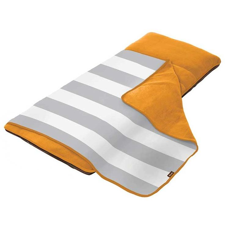 The Shrunks Sieta Inflatable Baby Nap Pad in Orange | Buy Sleeping Accessories