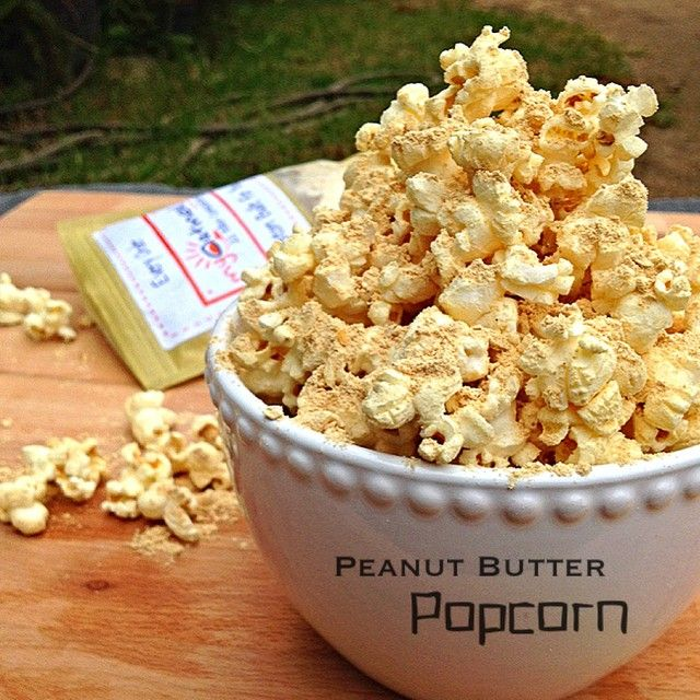 Butter Rum & Maple Protein Popcorn - Peanut Butter Protein Popcorn ...