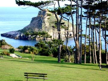 Torbay, Devon, UK, known as the 'English Riviera'