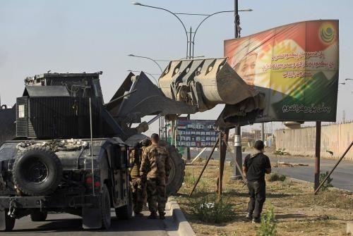 閃電進攻後基爾庫克現在完全在伊拉克軍隊控制