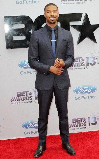 American actor, Michael B. Jordan during 2013 Bet Awards...