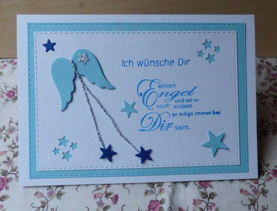 Glückwunschkarte zur Taufe für Mädchen Handarbeit Grußkarte Karte 3d Taufkarte