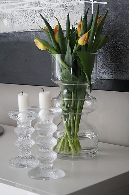 Iittala Festivo candle holders design by Timo Sarpaneva Finland