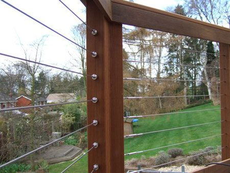 Best Stainless Steel Cable Railing System Yard Crash Pinterest 400 x 300