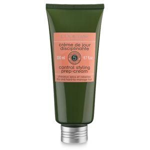Cette crème de jour disciplinante sans rinçage aide à nourrir et contrôler les cheveux secs et difficiles à coiffer. Sa formule sans silicone à base
