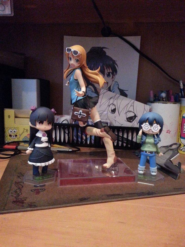 Kuroneko, Kirino, & Saori