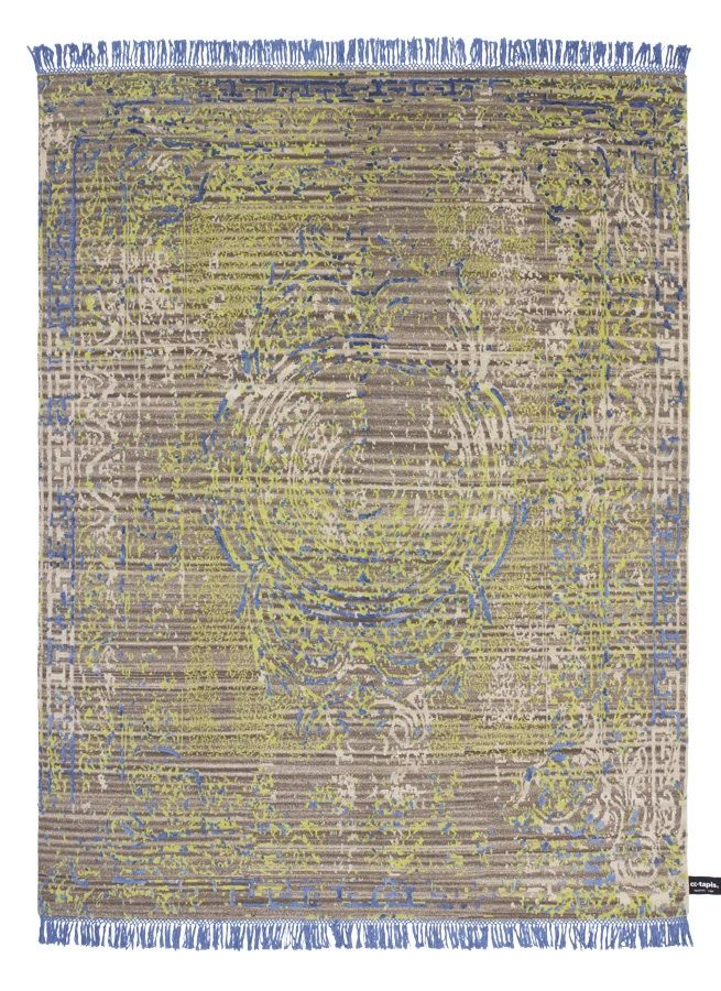Cotton rug from the Traces de memoire collection by CCTapis www.stephenneall.co.uk