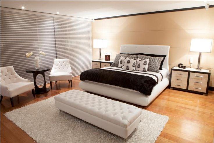 Stylish Bedroom by Fernando Garcia www.fernandogarcia.com.co