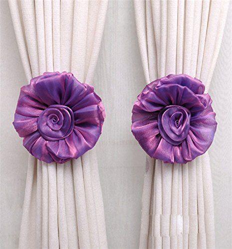 Mikey Store Cute Curtain Holdback Rose Flower Window Curt... https://www.amazon.com/dp/B01LWE3OCR/ref=cm_sw_r_pi_dp_x_AgrqybAMAZY81