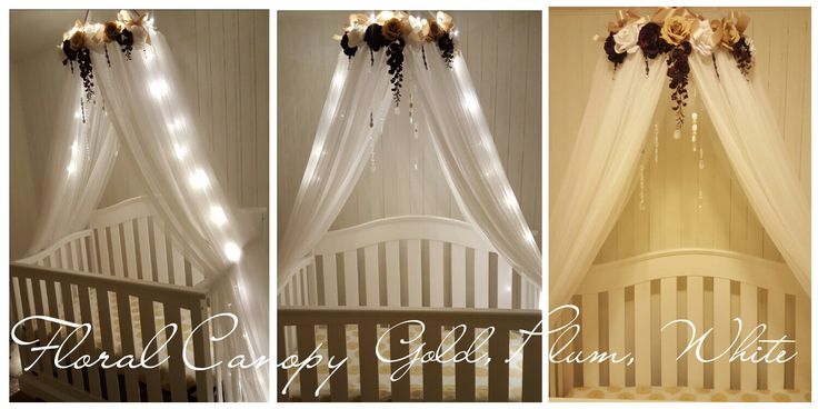 Sale! Custom Canopy- Nursery Crib Canopy-Baby Canopy-Crib Canopy-Bed Canopy- Nursery Decor-Princess Canopy-Lighted Canopy by LuxyBabyBoutique on Etsy https://www.etsy.com/uk/listing/291408131/sale-custom-canopy-nursery-crib-canopy