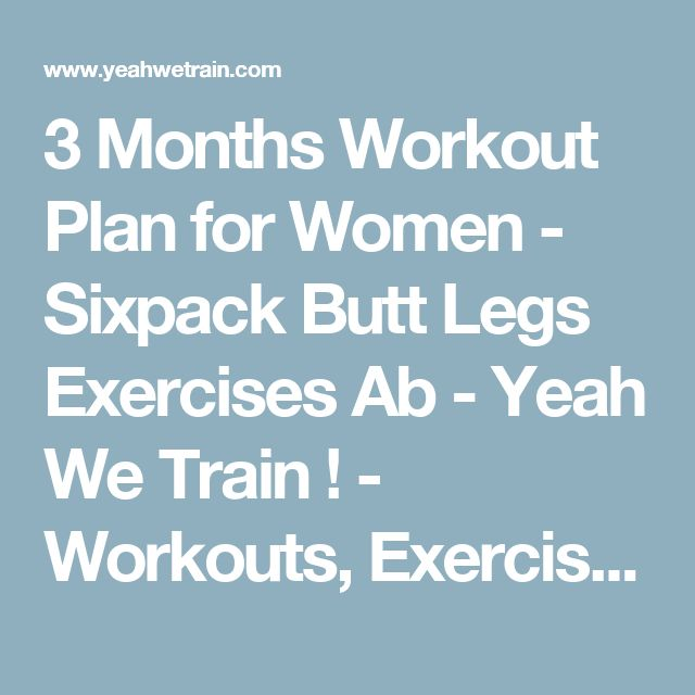 Best 25+ Monthly workout plans ideas on Pinterest   Month workout ...