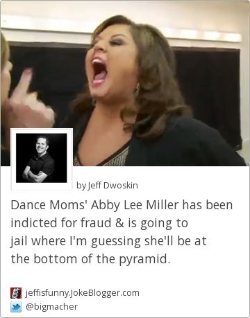 why is abby lee miller going jail