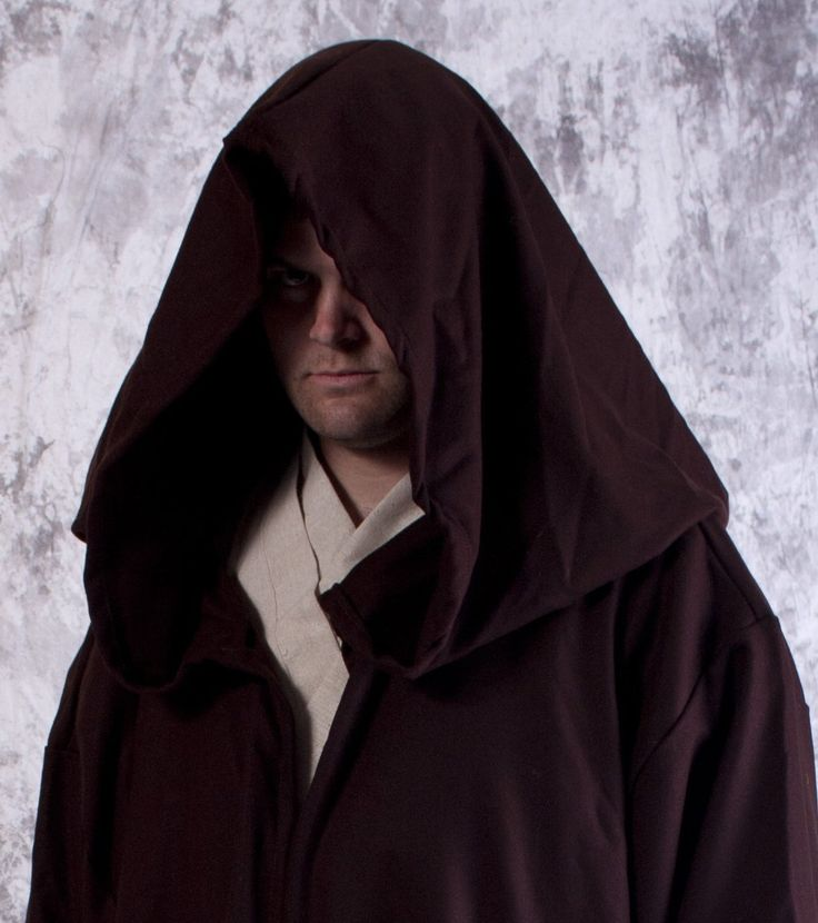 Wool Jedi or Sith Robe for Star Wars Costume by SpeedyCostumes on Etsy https://www.etsy.com/listing/110517399/wool-jedi-or-sith-robe-for-star-wars
