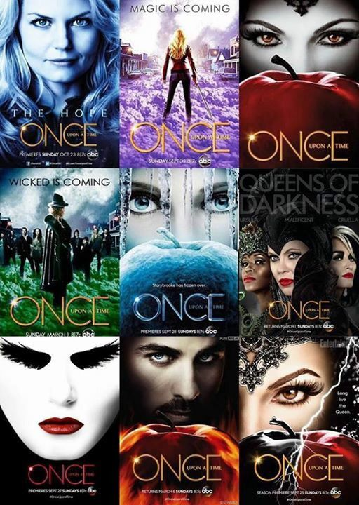 "Once posters. I am so excited for the Jekyll and Hyde storyline along with the ""untold stories""!"