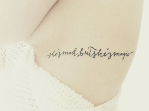 """Charles Bukowski quote: """"She's mad, but she's magic."""" love this style writing"""