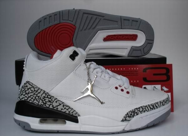 Find this Pin and more on Air Jordan 3. Air Jordan Retro 3 White ...