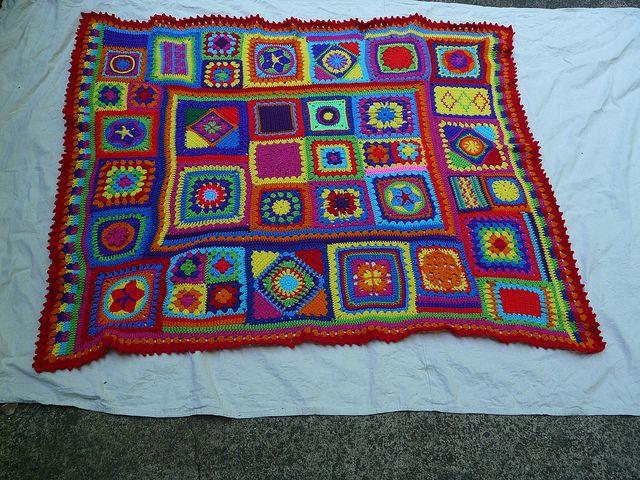 17 Best 1000 images about Crochet Afghans Sampler on Pinterest