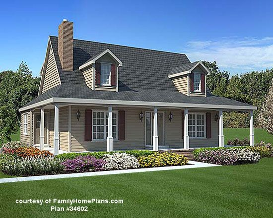 89 Best House Plans With Porches Images On Pinterest