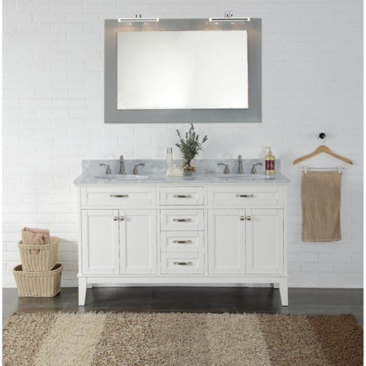 Member S Mark Double Sink Vanity Sam S Club Black Vanity Bathroom Bathroom Furniture Vanity Custom Bathroom Cabinets