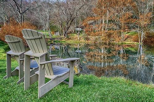 Waynesville NC, Boyd's Tree Farm Relaxing