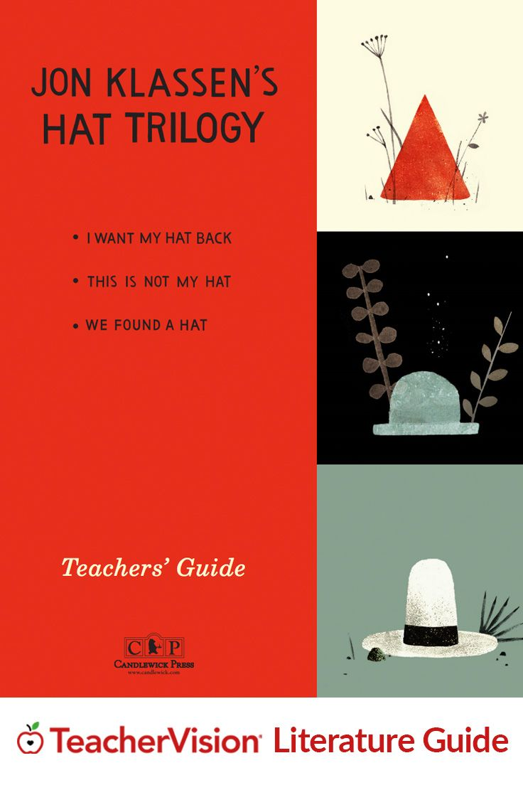 I Want My Hat Back Teaching Guide for Grades PreK-3: This guide consists of discussion questions & classroom extension activities that can be used when reading, teaching, or discussing I Want My Hat Back, This Is Not My Hat, & We Found a Hat (together or individually).