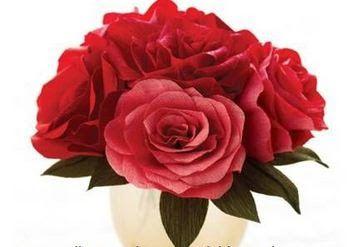 Rosas de papel paso a paso ~ cositasconmesh