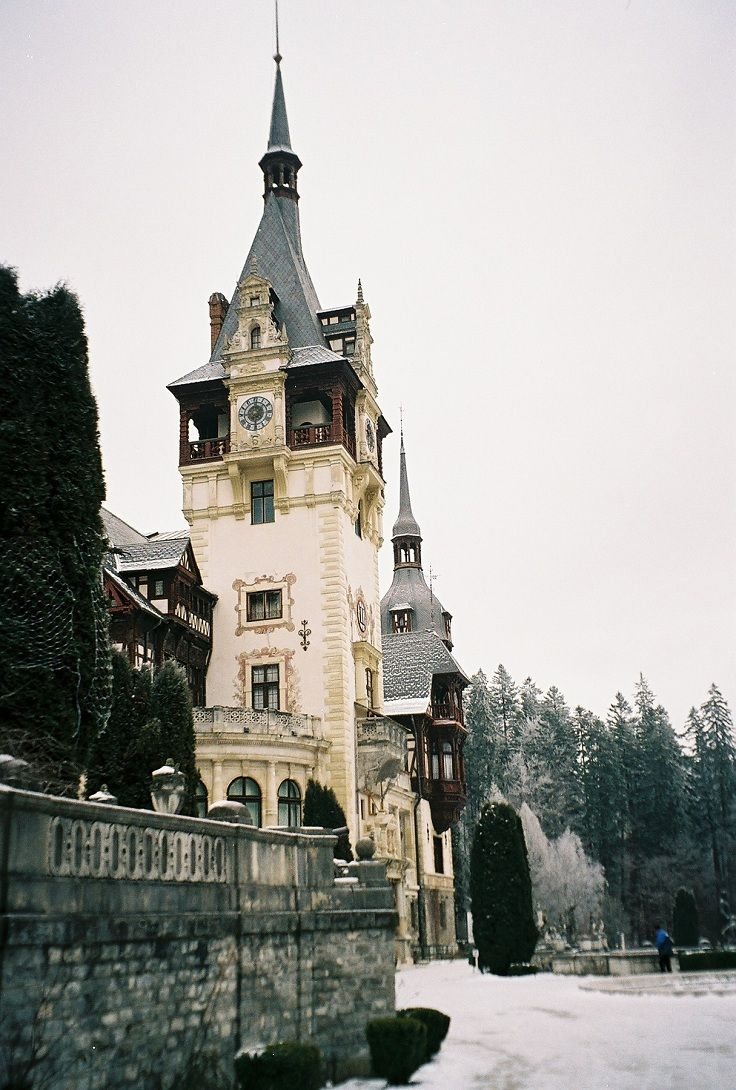 Peles Castle, Romania part of the TOP 10 Fairy-Tale Castles in Europe.