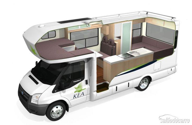 Como viajar de trailer ou motorhome