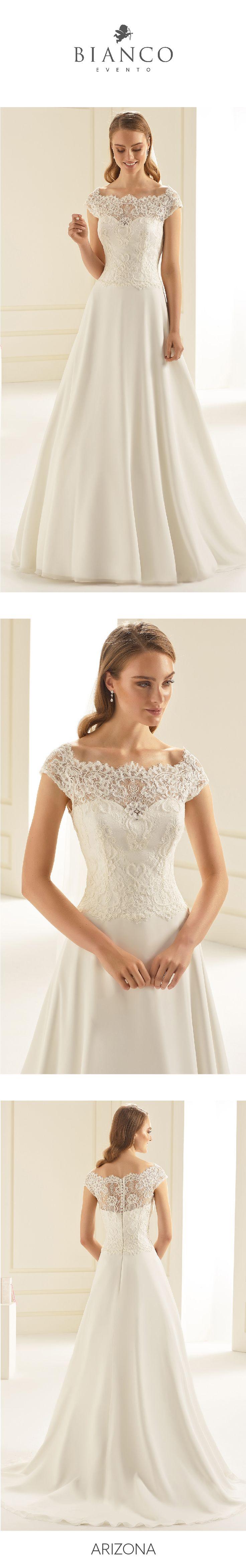 Feminine styles ready to discover! #NewCollection2018 at www.bianco-evento.com #biancoevento #biancoevento2018 #weddingdress #bridetobe