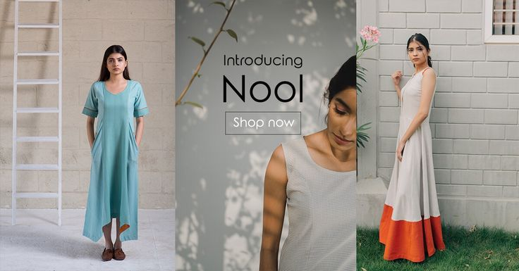 """We bring yet another tale of great work - Nool. NOOL merely contemporizes the essence of this """"weaving connection"""" using an exhilarating fusion of western designs and eastern skills.  #fashionpost #nool #chennimalai #style #summer #beach #instalike #aatachi #dresses #cotton"""