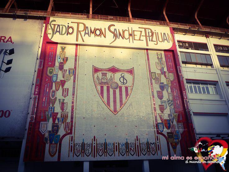 Estadio Ramón Sánchez Pizjuán. Sevilla FC. Sevilla, Andalucía, España.