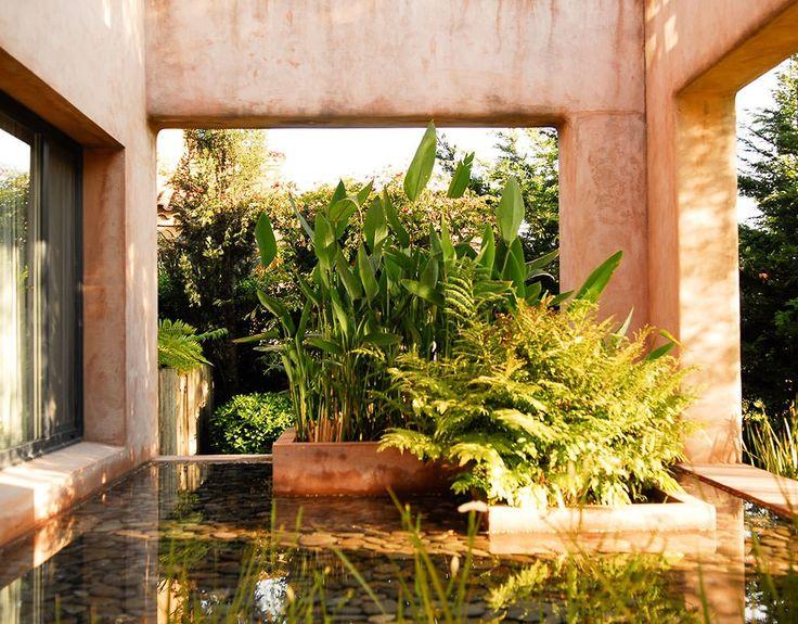 Paisajismo agua ricardo pereyra iraola exteriores for Paisajismo de patios
