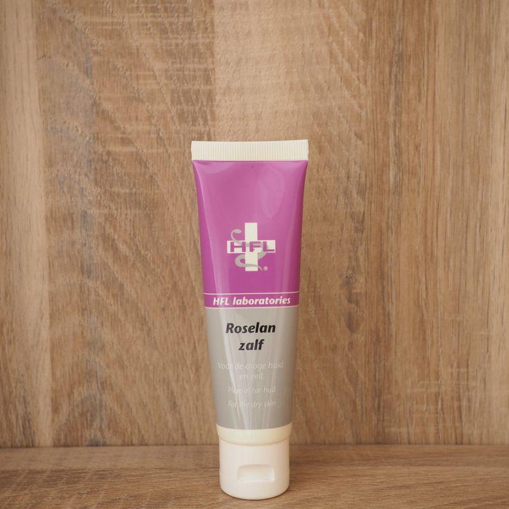 Roselan is een intensief werkend product voor de cosmetische verzorging van de droge huid, kloofjes, eeltplekken, droge vlekken, en de rode gevoelige huid over het gehele lichaam.