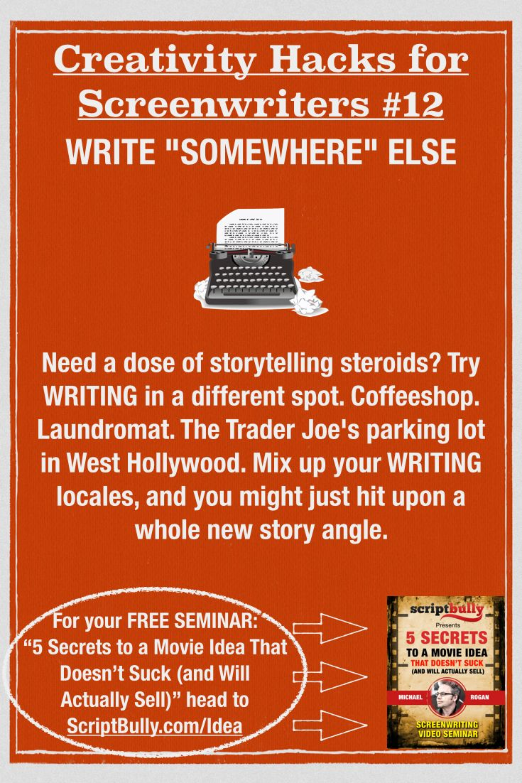 how to write a movie script and sell it