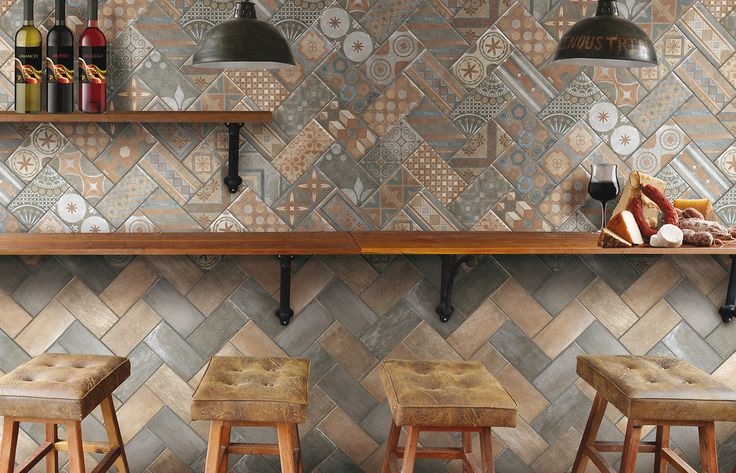 Classic - CIR® - Manifatture Ceramiche New Orleans: Royal Street 10x20, French Quarter Royal 10x20