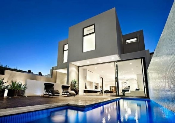 This stunning South Yarra (Australia) ultra contemporary property has recently been sold by RT Edgar Estate, minimalistic interior design trhoughout and excellent indoor/outdoor entertainment areas, this home is ideally located.