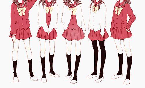 Japanese school uniforms 2