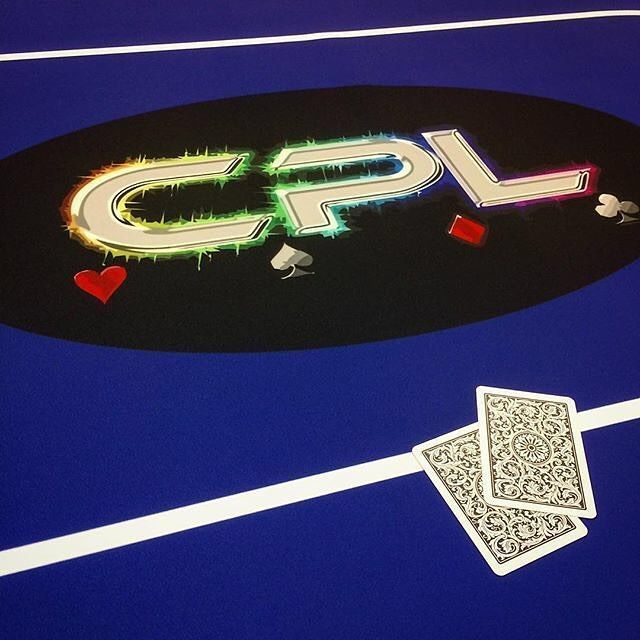 Custom CPL Poker layout� ����� Wanna see more?  We sell tons of cool casino supplies online.  Link in our bio!