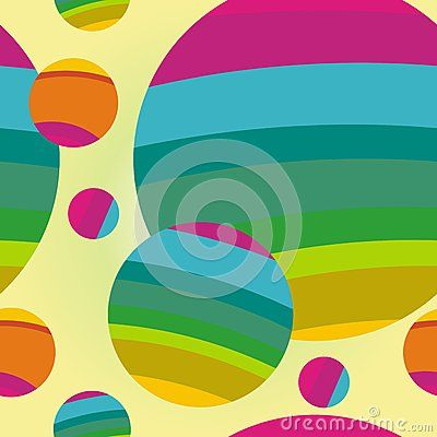 Colorful dot - ball Seamless pattern background, beautiful, funny design