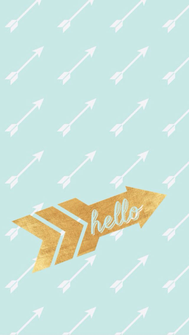 Cute Mint Blue Wallpapers Arrow Phone Iphone Wallpaper Background Cute Iphone