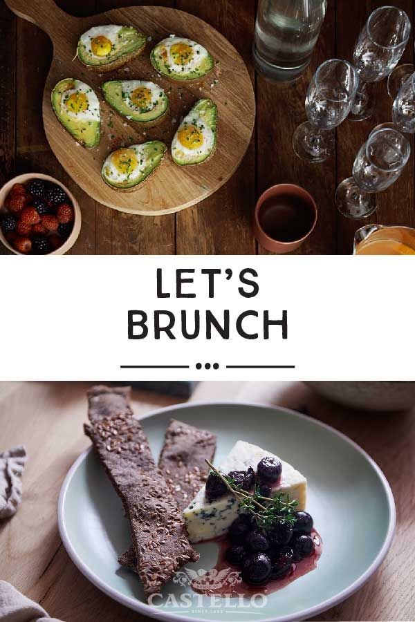 Ready to take your brunch to the next level? Wow your guests with these deliciously simple recipes by Castello.